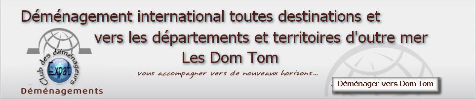 DEMENAGEMENTS DOM TOM. Déménagement  France 33260 La Teste-de-Buch
