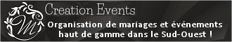 M CREATION EVENTS Agence d'Organisation d'Évènements Bordeaux