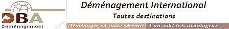 « D.B.A. Déménagement » Demenagements internationaux De Bordeaux